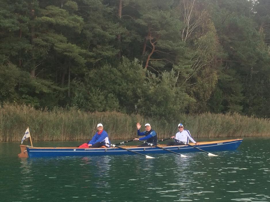 Rudertour auf dem Waginger See