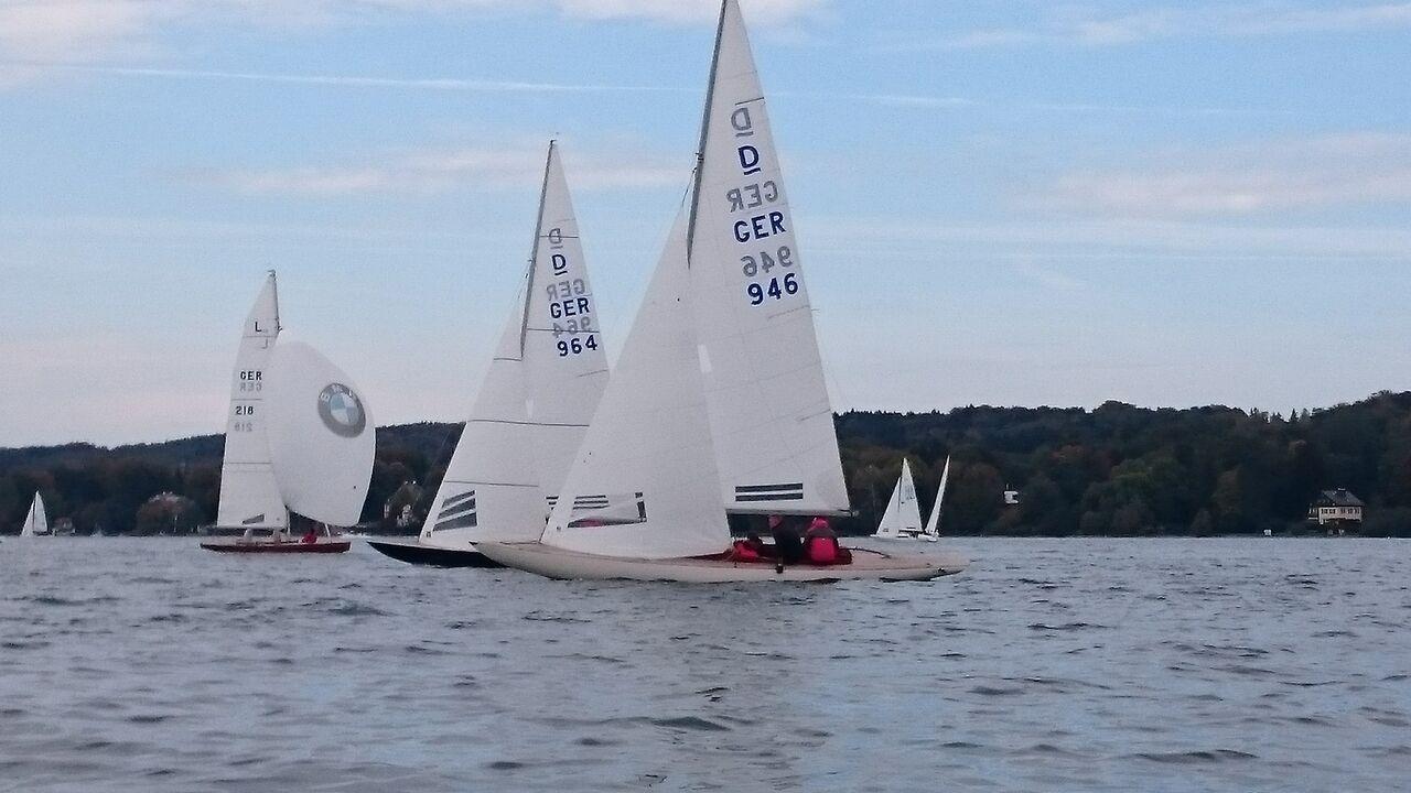 Drachenfinale beim Yachtclub Possenhofen