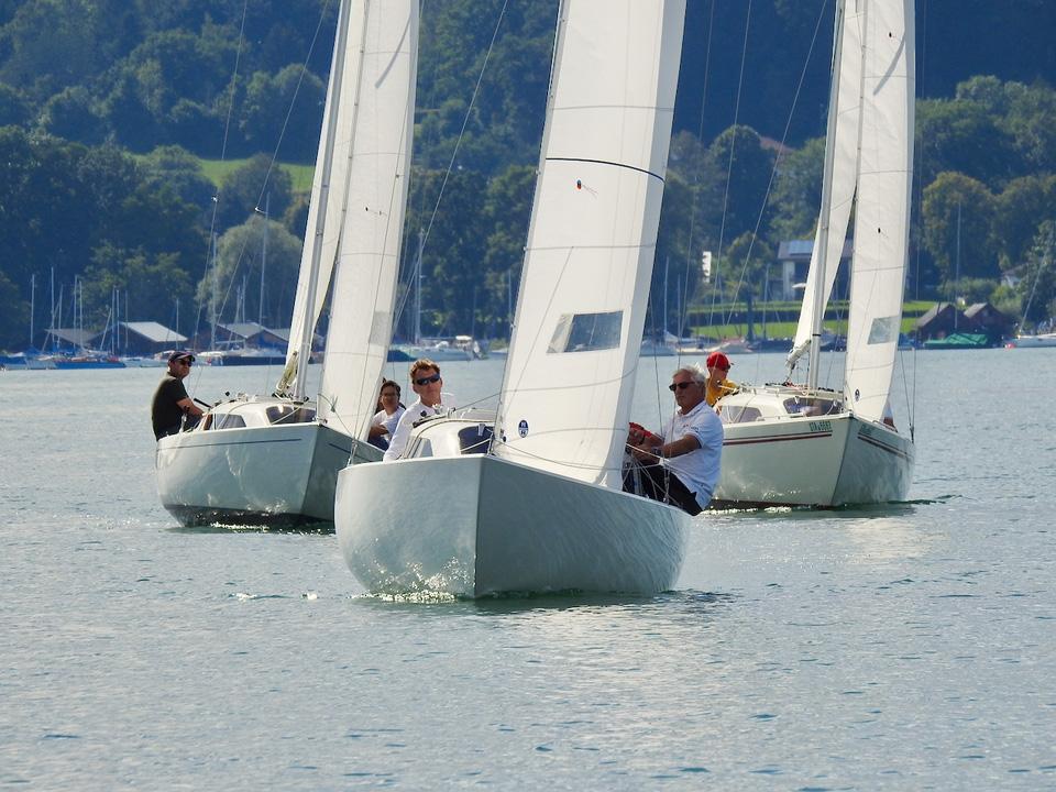 MRSV-Boot gewinnt Robert-Huber-Pokal der H-Boote im DTYC