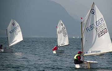 Ostertraining am Gardasee