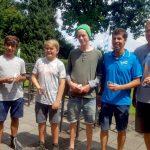 Das erfolgreiche MRSV Team beim Laser Datschi im Augsburger Segelclub